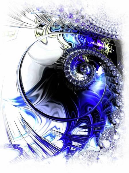 Wall Art - Digital Art - Bubble Spiral by Amanda Moore