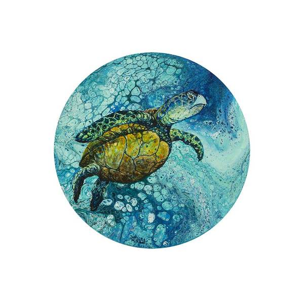 Painting - Bubble Surfer  by Darice Machel McGuire