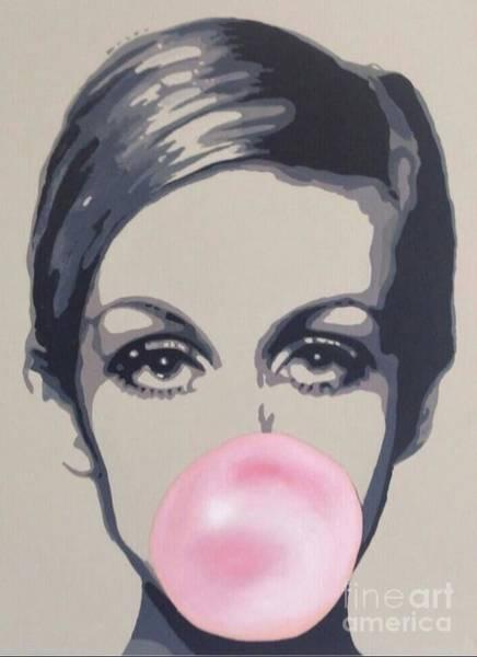 Mod Painting - Bubblegum Beauty by Sara Sutton