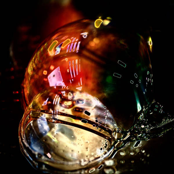 Photograph - Bubbles Abstract 3 by David Patterson
