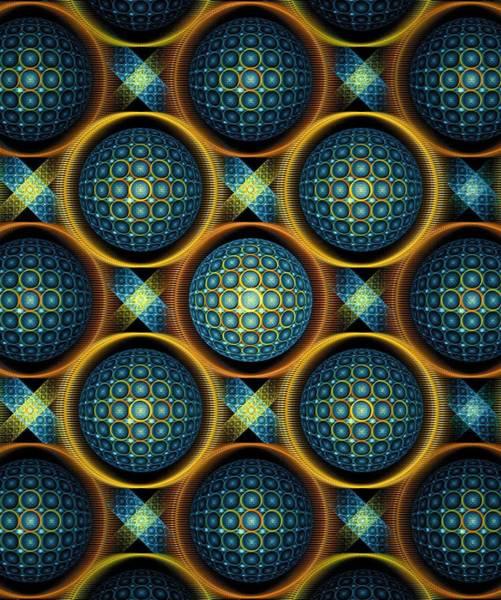 Mixed Media - Bubbles - Pattern - Fractal by Anastasiya Malakhova