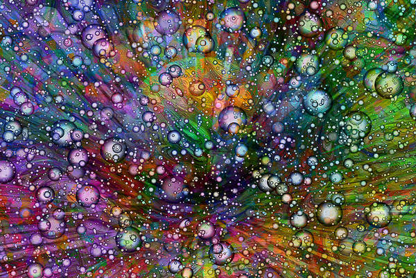 Red Ball Painting - Bubblie by Jack Zulli