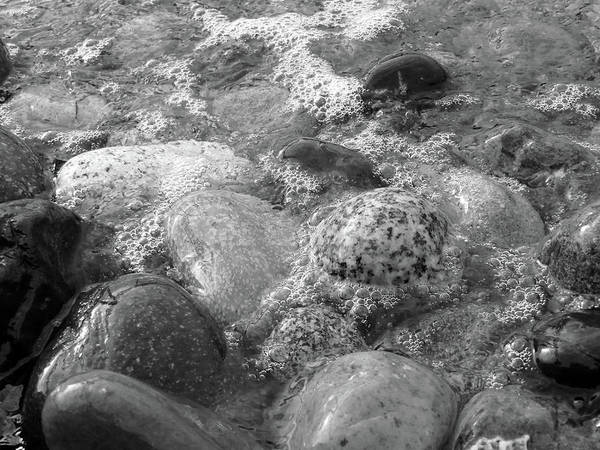 Photograph - Bubbling Stones by Jenny Mead