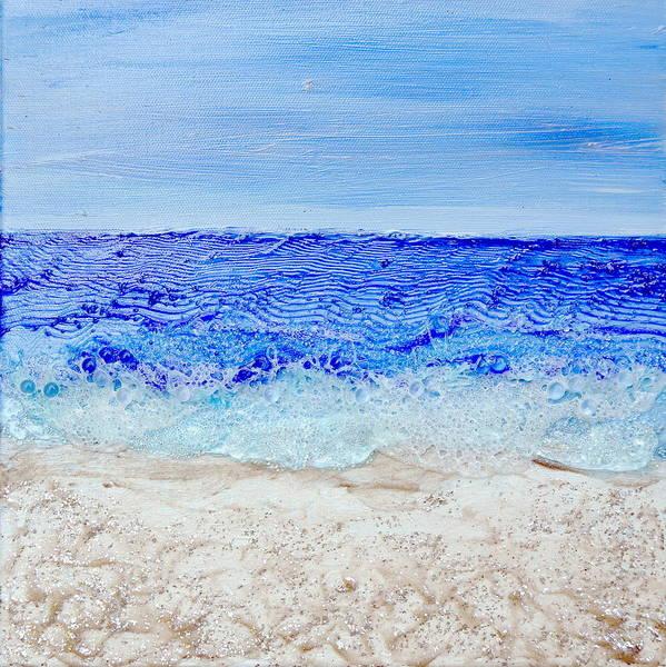 Painting - Bubbling Surf by Regina Valluzzi