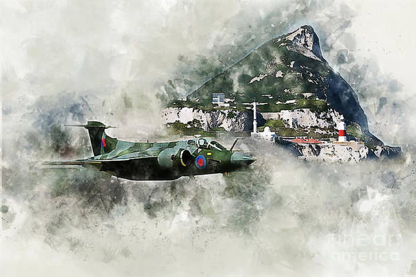 Wall Art - Digital Art - Buccaneer At The Rock - Painting by J Biggadike