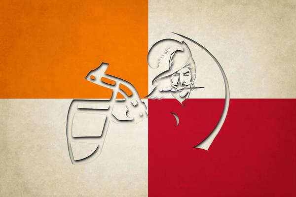 Wall Art - Photograph - Buccaneers Helmet Art by Joe Hamilton