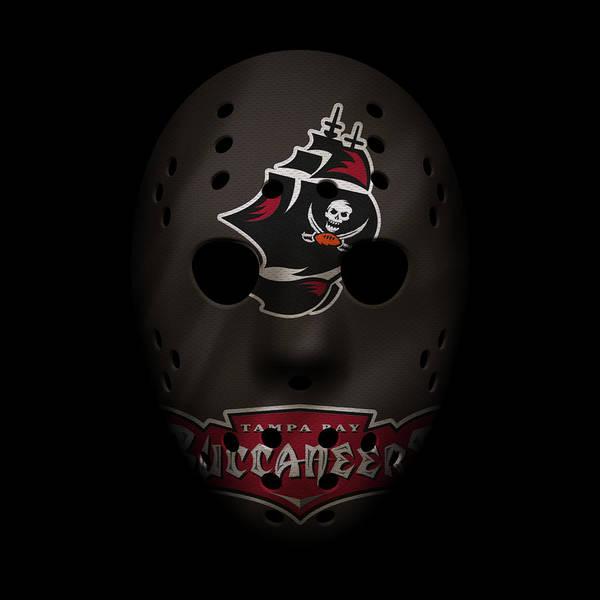 Wall Art - Photograph - Buccaneers War Mask 2 by Joe Hamilton