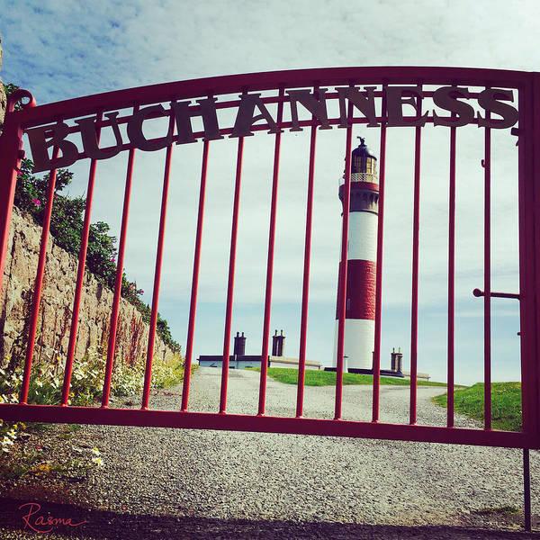 Photograph - Buchan Ness Gate by Rasma Bertz