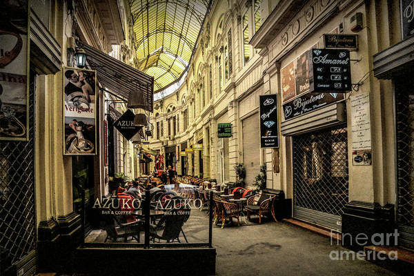 Photograph - Bucharest  Macca - Vilacrosse Passage by Daliana Pacuraru