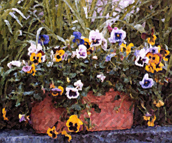 Wall Art - Photograph - Bucket Of Flowers by Donna Bentley
