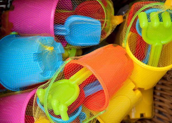 Photograph - Buckets And Spades by Helen Northcott
