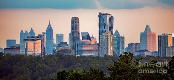 Buckhead Atlanta Skyline Art Print