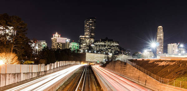 Photograph - Buckhead Nights by Mike Dunn