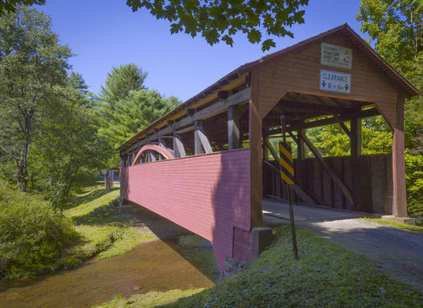 Photograph - Buckhorn Covered Bridge by Jack R Perry
