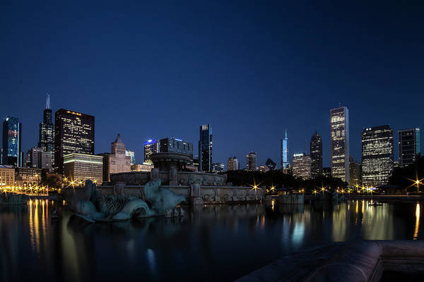 Photograph - Buckingham Fountain At Twilight by Sven Brogren