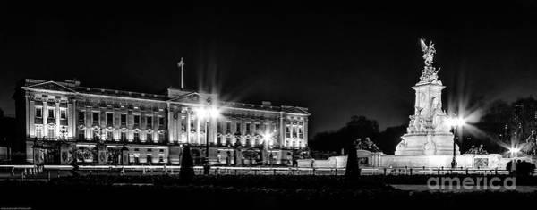 Photograph - Buckingham Palace Night Photo by Nigel Dudson