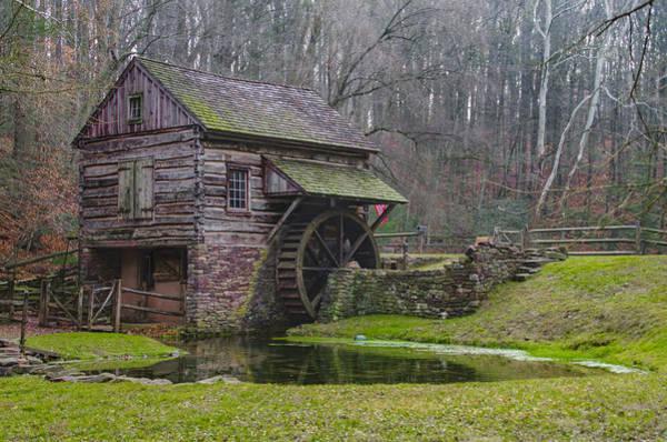 Digital Art - Bucks County - Cuttalossa Mill  by Bill Cannon
