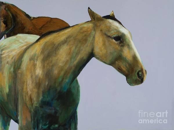 Painting - Buckskin by Frances Marino