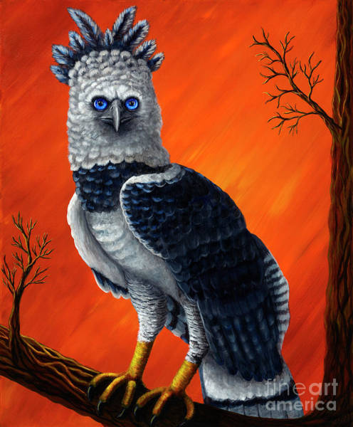 Unafraid Painting - Bucky's Cousin by Rebecca Parker