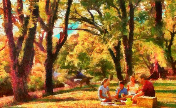 Digital Art - Bucolic Afternoon by Caito Junqueira