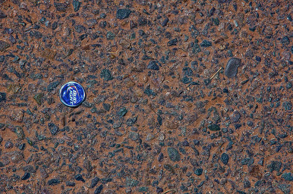 Photograph - Bud Light Cap  by Britt Runyon