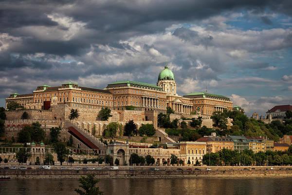 Buda Photograph - Buda Castle Royal Palace In Budapest by Artur Bogacki