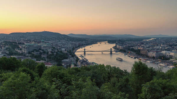Donau Photograph - Budapest 11 by Tom Uhlenberg