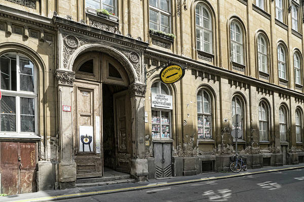 Photograph - Budapest Book Store by Sharon Popek