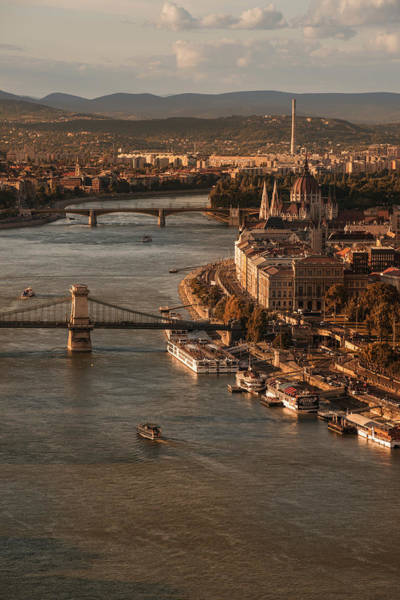 Donau Photograph - Budapest In The Morning Sun by Jaroslaw Blaminsky