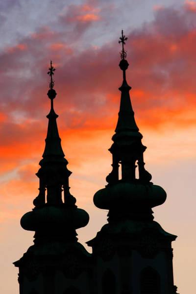 Photograph - Budapest Sunset by KG Thienemann
