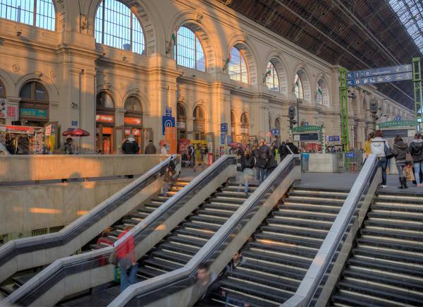 Photograph - Budapest Train Station 2 by Matthew Bamberg