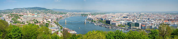 Photograph - Budapest Wide Format Panorama Photo by Matthias Hauser