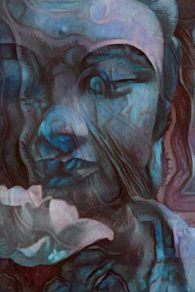 Digital Art - Buddha 1 by Richard Laeton