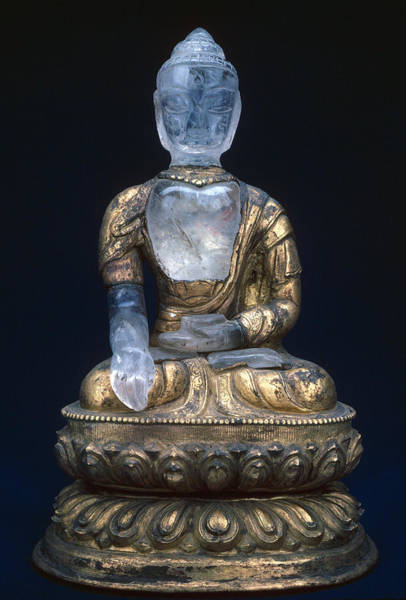 Wall Art - Photograph - Buddha, 17th Century by Granger