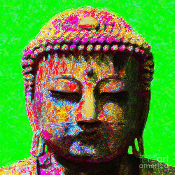 Photograph - Buddha 20130130m100 by Wingsdomain Art and Photography