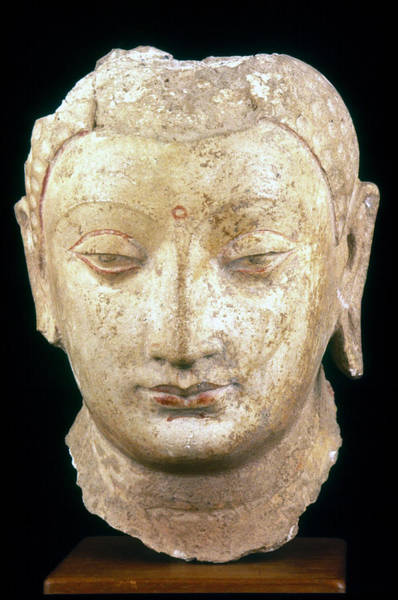 Photograph - Buddha, 4th-7th Century by Granger