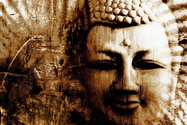 Wall Art - Photograph - Buddha Abstract by Skip Nall