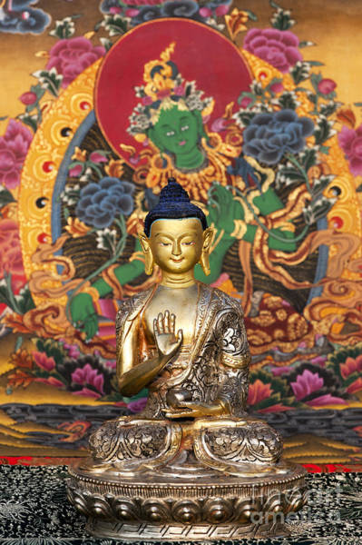 Wall Art - Photograph - Buddha Blessing by Tim Gainey