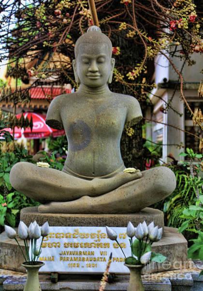 Phnom Penh Wall Art - Photograph - Buddha Cambodia  by Chuck Kuhn