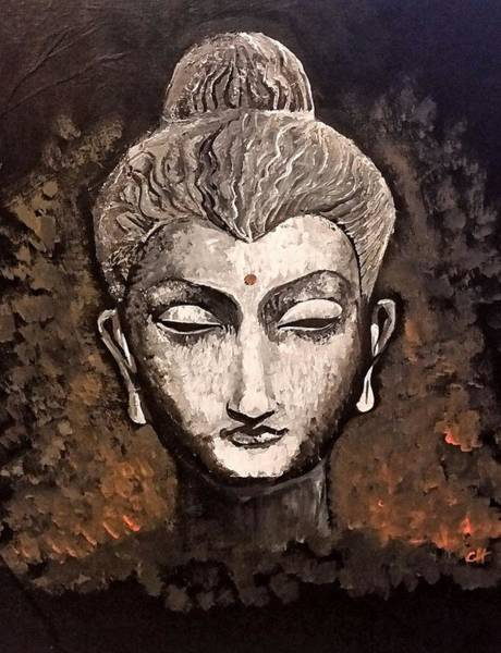 Painting - Buddha by Carole Hutchison