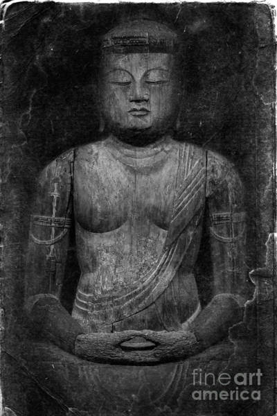 Photograph - Buddha by Edward Fielding