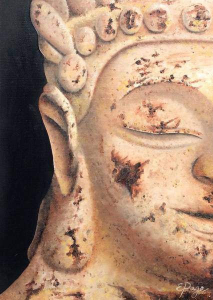 Painting - Buddha by Emily Page