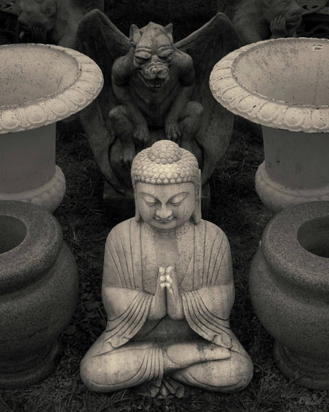 Photograph - Buddha Iv Toned by David Gordon