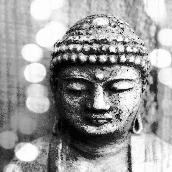 Buddhist Wall Art - Mixed Media - Buddha by Linda Woods