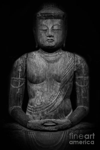 Photograph - Buddha Mahavairocana by Edward Fielding