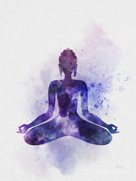 Buddha Wall Art - Mixed Media - Buddha by My Inspiration