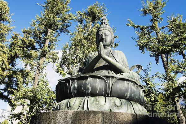 Wall Art - Photograph - Buddha Statue by Bill Brennan - Printscapes