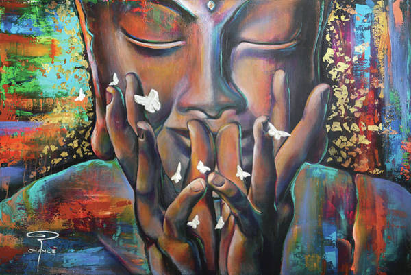Painting - Buddhaflies by Robyn Chance