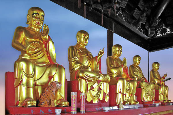 Photograph - Buddhas Delight - Representations Of Buddhism by Christine Till