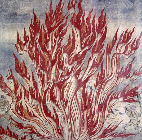 Wall Art - Photograph - Buddhism: Hell by Granger